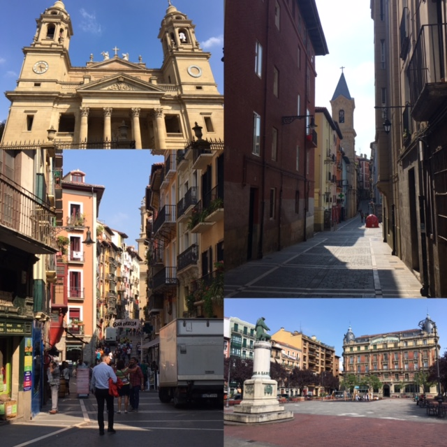 Pamplona a roncesvalles